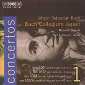Bach: Concertos Vol 1 / Suzuki, Terakado, Wakamatsu, et al