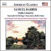 American Classics - Barber: Violin Concerto, etc / Buswell
