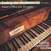 Beethoven Vol 1 - Sonates, etc / Trudelies Leonhardt