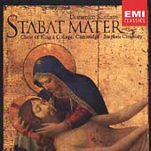 Scarlatti: Stabat Mater, etc/ Cleobury, King's College Choir