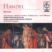 Handel: Messiah / Sargent, Morison, Thomas, Lewis, Milligan