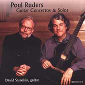 Ruders: Guitar Concertos & Solos / Starobin, Palma, Wagner