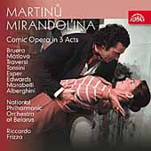 Martinu: Mirandolina / Frizza, M&#225;tlov&#225;, Bruera, Belarus NPO