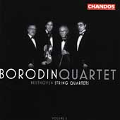 Beethoven: String Quartets Vol 2 / Borodin String Quartet
