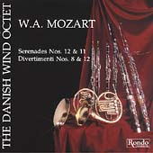 W.A. Mozart: Serenades for Winds / The Danish Wind Octet