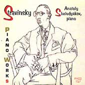Stravinsky: PIano Works / Sheludyakov