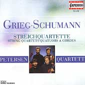 Grieg, Schumann: String Quartets / Petersen Quartett