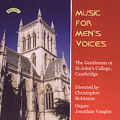 Poulenc, Walker, Biebl: Music for Men's Voices