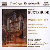 Organ Encyclopedia - Buxtehude: Organ Works Vol 4 / Cramer