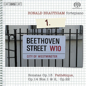 Beethoven: Complete Works for Solo Piano Vol 1 / Brautigam