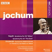 Haydn: Symphony no 100 & 10; et al / Jochum, et al