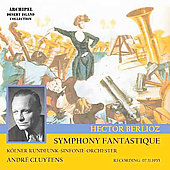 Berlioz: Symphonie fantastique, etc / Cluytens, Stokowski