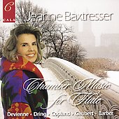 Chamber Music for Flute - Devienne, Copland, etc/ Baxtresser