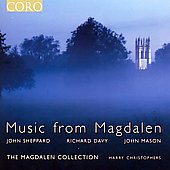 Music from Magdalen - Sheppard, Davy, Mason / Christophers