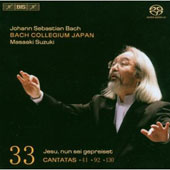 Bach: Cantatas Vol 33 / Suzuki, Blaze, Kobow, Nonoshita, etc