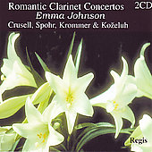 Romantic Clarinet Concertos - Crusell, etc / Johnson, et al