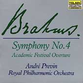 Brahms: Symphony no 4, Academic Festival Overture / Previn