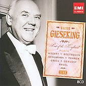 Icon - Walter Gieseking plays Mozart, Beethoven, Debussy, Ravel, etc