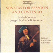 Plus - Corrette, Boismortier: Sonatas for Bassoon, etc / Richte van der Meer, Robert Kohnen