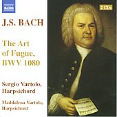 J.S. Bach: The Art of Fugue, BWV 1080 / Sergio Vartolo, Maddalena Vartolo