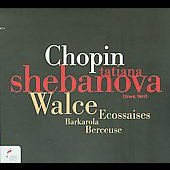 Chopin: Waltzes Barcarolle Berceuse Ecossaises (Di