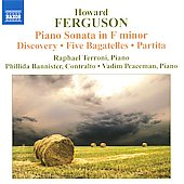 Howard Ferguson: Piano Sonata In F Minor