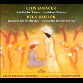 Bartok: Concerto for orchestra; Janacek: Lachian Dances / Weller