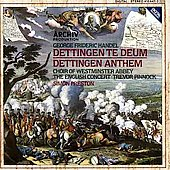 Handel: Dettingen Te Deum, Dettingen Anthem / Preston