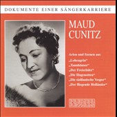 Maud Cunitz sings highlights from Der Freisch&uuml;tz, Lohengrin, Tannh&auml;user