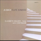 Bach: Flute Sonatas / Elizabeth Walker, Continuum