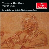 Telemann: Flute Duets TWV 40:141-46 / Steven Zohn & Colin St-Martin, baroque flutes
