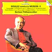 Boulez conducts Webern II / Berliner Philharmoniker