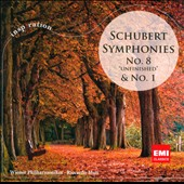 Schubert: Symphonies Nos. 1 & 8 / Riccardo Muti, Vienna Philharmonic