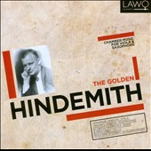 The Golden Hindemith: Chamber Music for Viola & Saxophone / Henninge Landaas, viola; Vegard Landaas, Saxophones; Elzbieta Nawrocka, piano et al.