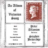 An Album of Victorian Song / Allanson, Betteridge