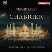 Chabrier: Overtures to Gwendoline; L'Etoile; suite Pastorale. Joyeuse marche; Bourr&eacute;e fantasque / Neeme Jarvi