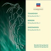 Borodin: String Quartet No. 2; Tchaikovsky: String Quartet No. 1
