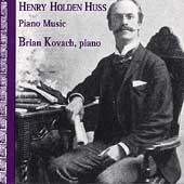 Huss: Piano Music / Brian Kovach