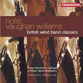 Holst, Vaughan Williams - British Wind Band Classics