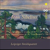Jean Sibelius: String Quartet a minor JS 183; String Quartet D minor op. 56