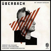 Arash Safaian (b.1981): Concertos for Piano, Vibraphone and Chamber Orchestra / Sebastian Knauer, piano; Pascal Schumacher, percussion; Willi Zimmerman, Zürcher Kammerorchester