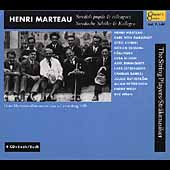 Henri Marteau - Pupils & Colleagues