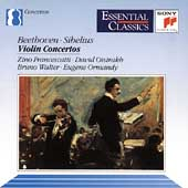 Beethoven, Sibelius: Violin Concerti /Francescatti, Oistrakh