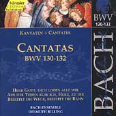 Edition Bachakademie Vol 41 - Cantatas BWV 130-132 / Rilling