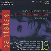 Bach Cantatas Vol 13 / Suzuki, Bach Collegium Japan