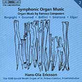 Symphonic Organ Music Vol 2 - Respighi, et al / Ericsson