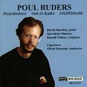 Ruders: Psalmodies, Vox in Rama, Nightshade / Starobin et al