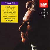 Dvorak: Symphonies No 8 & 9 / Karajan, Berlin Philharmonic