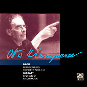 Bach: Brandenburg Concerti;  Mozart / Otto Klemperer