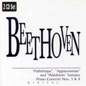Beethoven: Pathetique, Appassionata, etc / Alfred Brendel